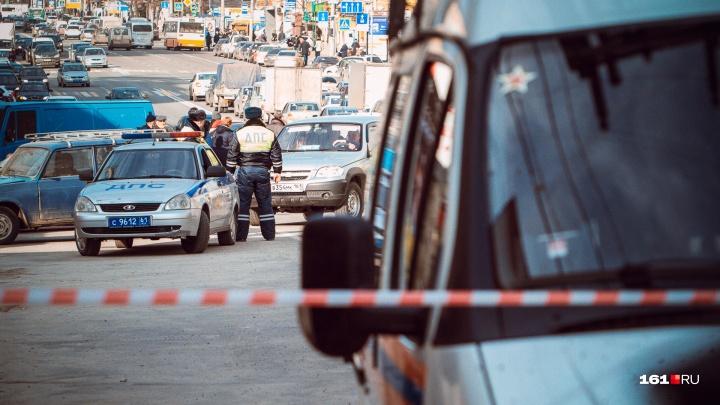 На СЖМ эвакуировали ТЦ «Орбита»: на двух улицах образовалась пробка