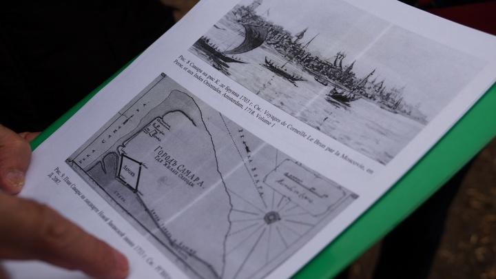 Археологи выяснят, сколько леткрепости, фрагменты которой нашли на Хлебной площади