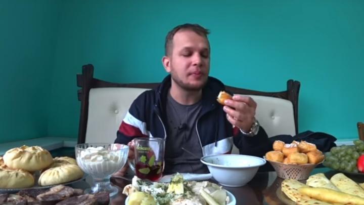 Известный видеоблогер решил попробовать башкирскую кухню, но не осилил