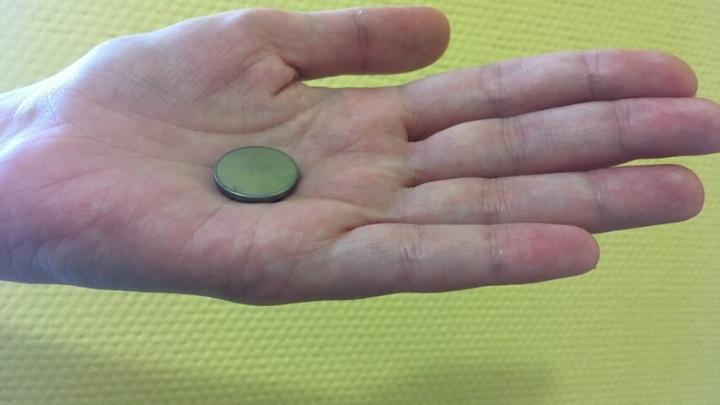 В Тюмени врачи спасли двухлетнюю девочку, проглотившую батарейку