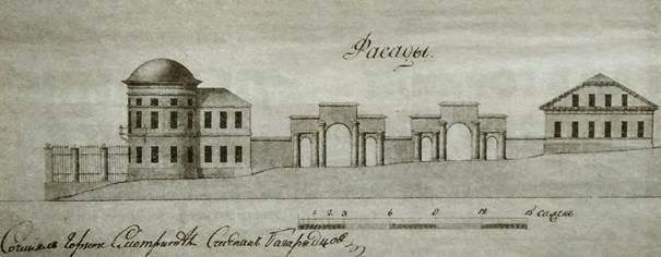 Проект ансамбля, 1830-е годы