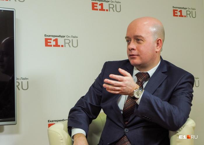 Егор Свалов, заместитель министра ЖКХ Свердловской области, курирует тему «мусорной» реформы в регионе