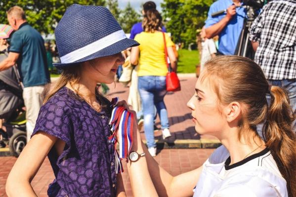 22 августа бесплатно самарцам будут раздавать ленточки в цветах российского флага