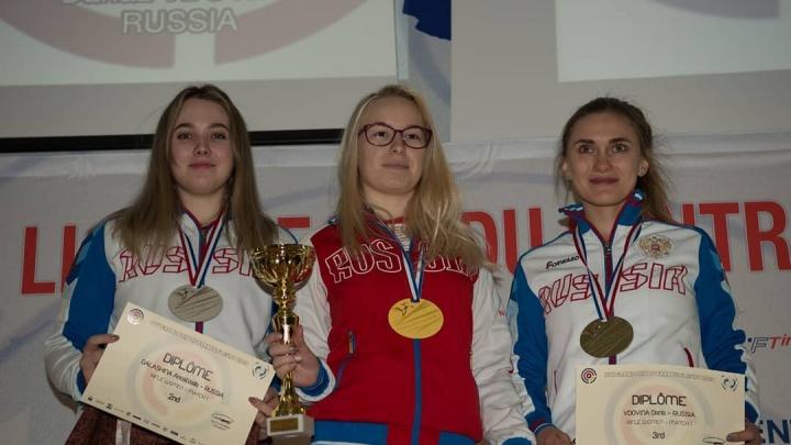 Северянка Дарья Вдовина взяла бронзу международных соревнований по пулевой стрельбе