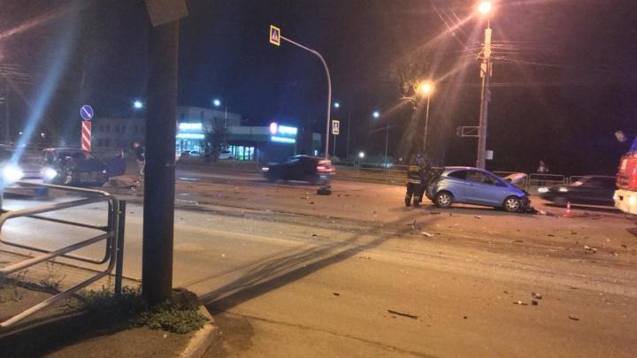 Молодая челябинка устроила тройное ДТП на Копейском шоссе, двое в больнице