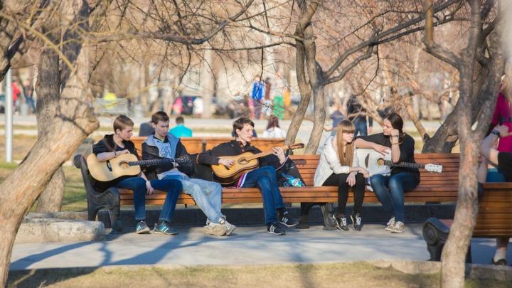 Зима уходит: в Новосибирске задержится тёплая погода