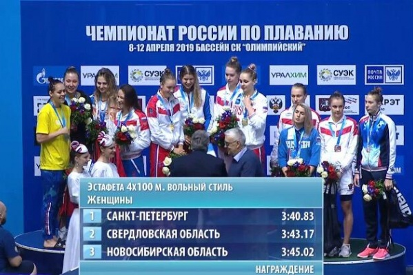 В первый день соревнований новосибирские пловцы дважды стали бронзовыми призёрами