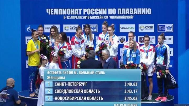 Олимпиада стала ближе: пловцы из Новосибирска взяли две бронзы на чемпионате России