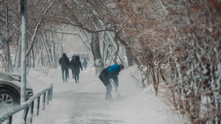 Обещанный снегопад принесет с собой в Тюмень 30-градусные морозы