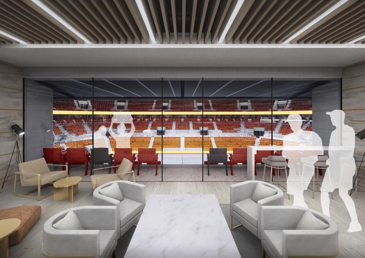 В УГМК перерисовали ледовую арену на месте телебашни и показали, как она будет выглядеть