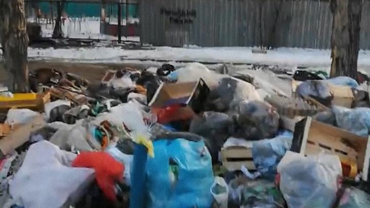 «Эхо мусорной войны»: на северо-западе челябинцы устроили свалку рядом с детским садом