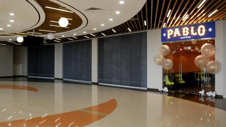 На фуд-корте торгового центра у вокзала заработали первые заведения