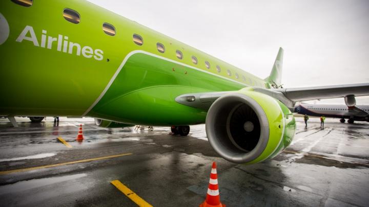 Самолёт из Норильска в Новосибирск приземлился в Сургуте из-за проблем с двигателем
