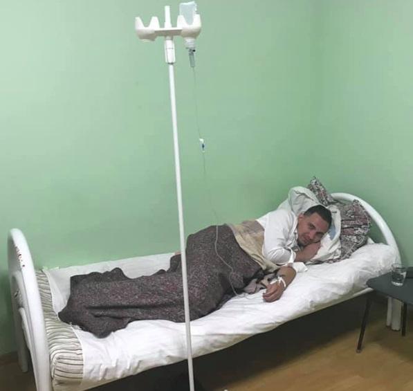Андрей Вовк со свадьбы уехал в больницу