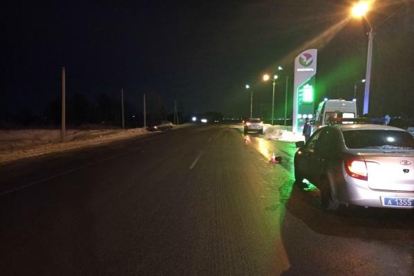 Водитель ВАЗа ехал со стороны трассы «Иртыш»