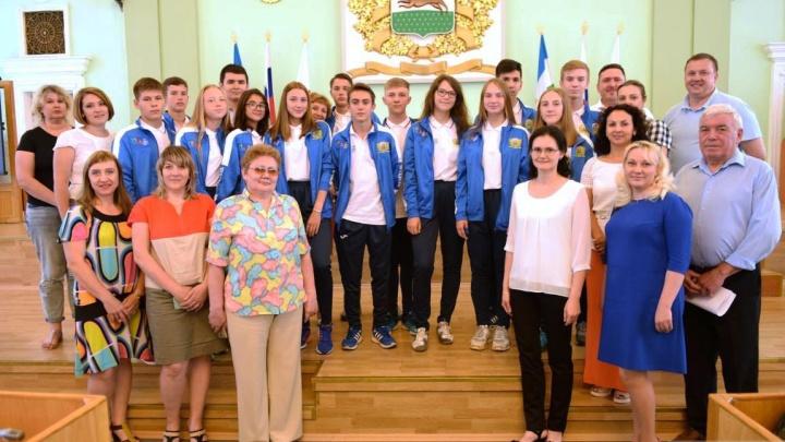 Юные спортсмены из Уфы летят на Международные детские игры