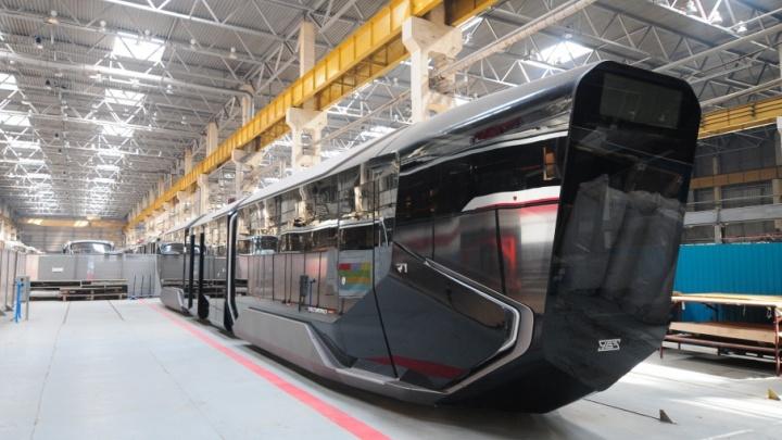 «Ростех» отказался запускать инновационный трамвай R1 в серийное производство