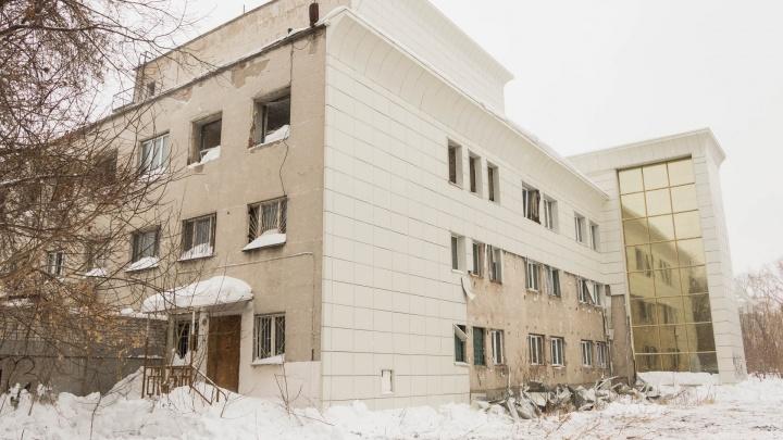 В Перми начали разбирать ДК «Телта»