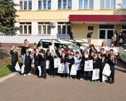 ŠKODA и «Барс-Авто» рассказали детям о ПДД