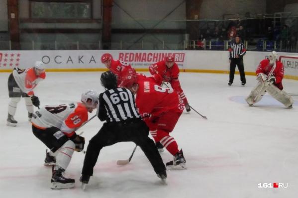 Очередную серию домашних матчей ХК «Ростов» начал с победы