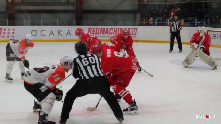 ХК «Ростов» вырвал победу у пермяков на последних секундах овертайма