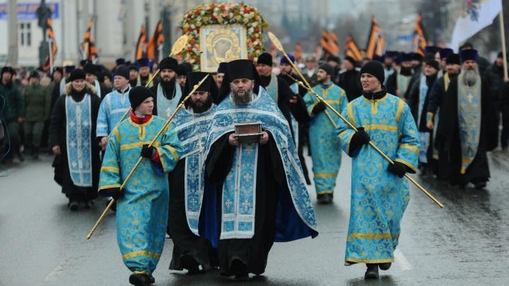 Крестный ход, «Русский марш» и фейерверк: программа Дня народного единства в Екатеринбурге