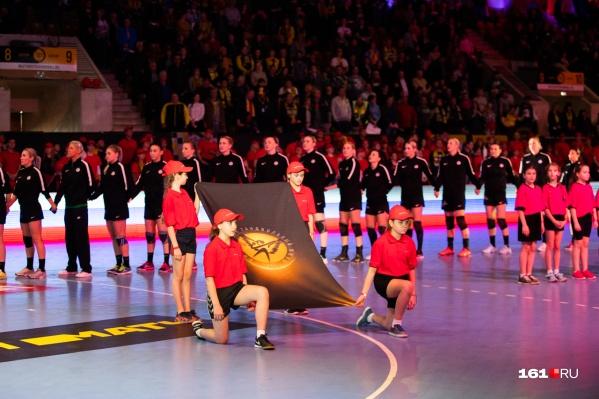 Важный матч прошел во Дворце спорта