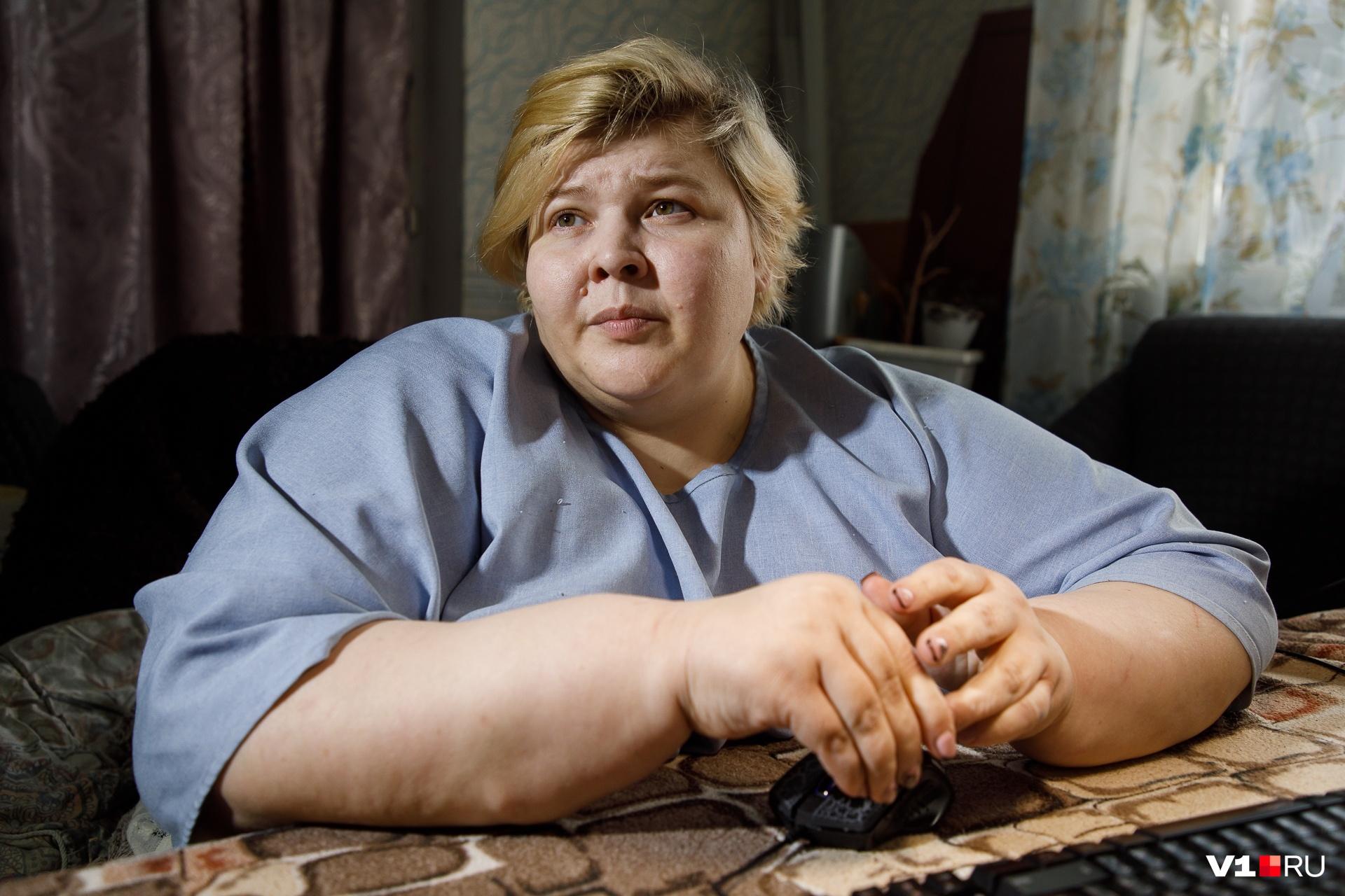 Наталья Руденко с самого детства стала набирать лишний вес