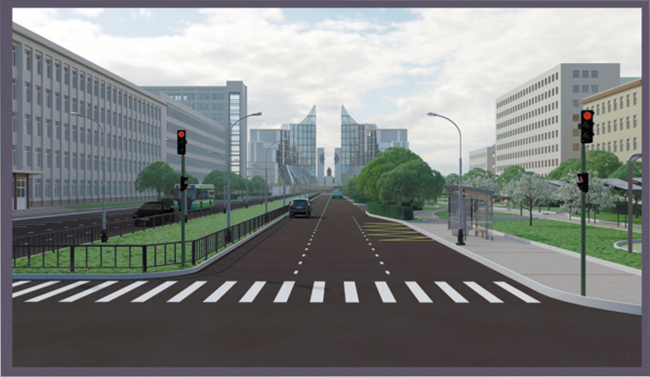 Авторы проекта считают, что проспект Ленина нужно завершить единым архитектурным ансамблем