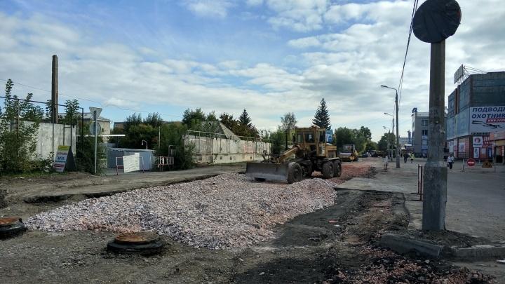 СГК восстановит больше сотни участков после ремонта теплосети в Красноярске