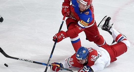Сборная России обыграла команду Чехии и вышла в полуфинал чемпионата мира