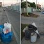 Волгоград встречает туристов ЧМ-2018 придорожными мешками с мусором