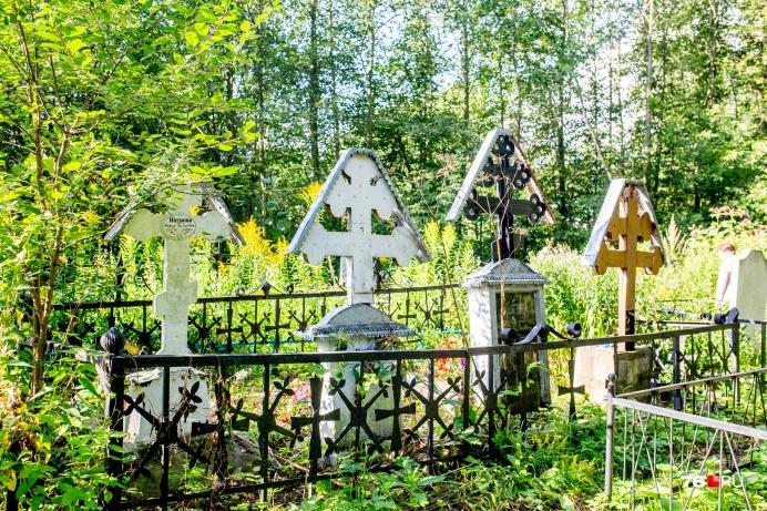 На кладбище наткнулись на старообрядческие кресты