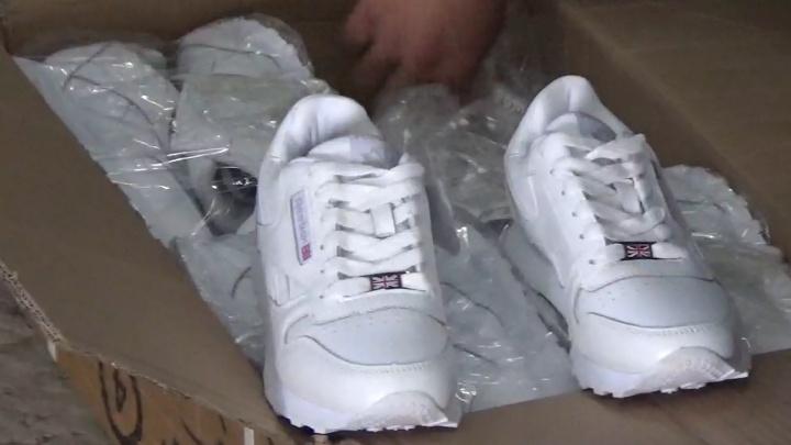 Reebok, Nike и Adidas: на Южном Урале задержали фуру с поддельными кроссовками известных брендов