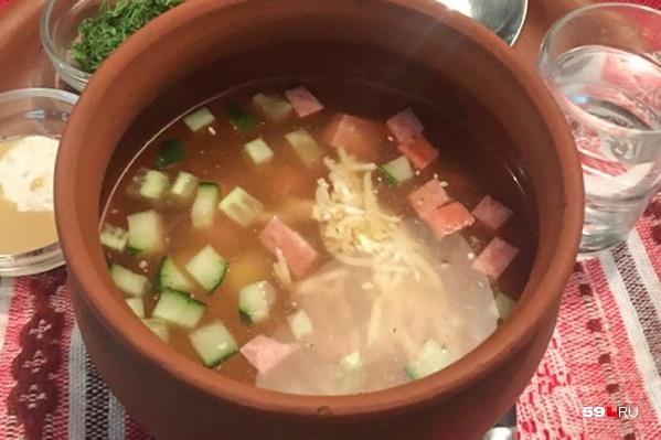 Холодный суп— идеальное блюдо в летнюю жару