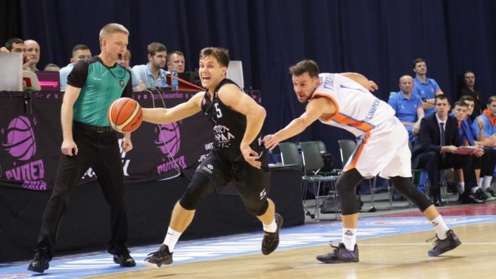Дебют тренера провалился: баскетбольный «Урал» уступил действующему чемпиону Суперлиги