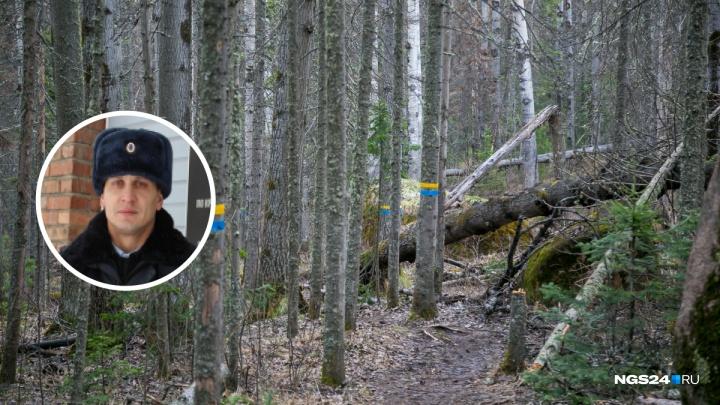 Полицейский на руках вынес из леса потерявшуюся женщину с обморожением