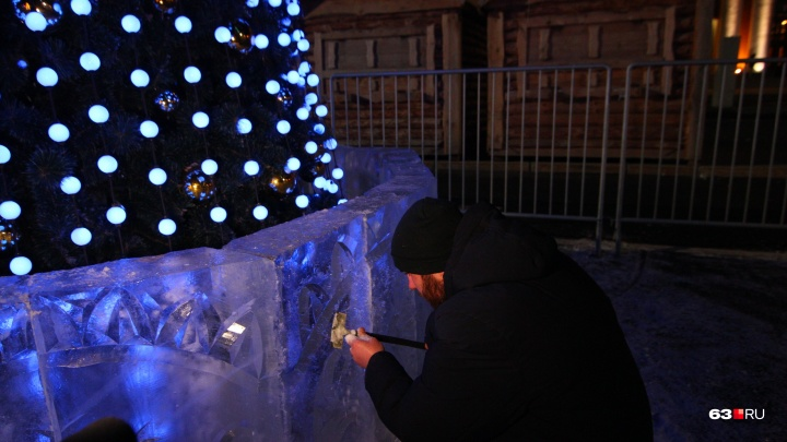 Ледовый городок на площади Куйбышева к Новому году делать не будут