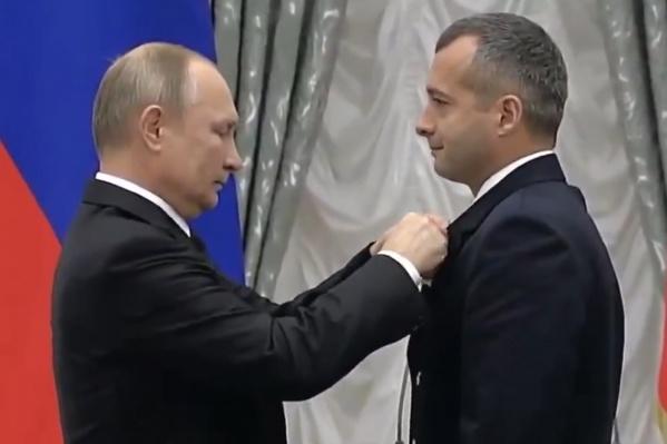 Церемония награждения прошла в Кремлевском дворце