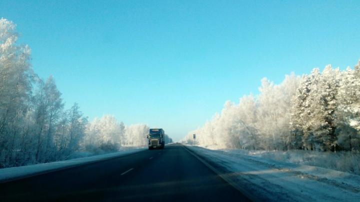 Дороги из Казахстана до Русской Поляны закрыли из-за плохой погоды