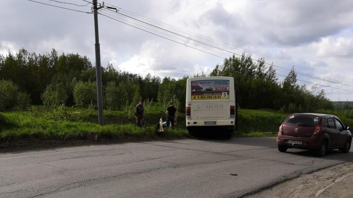 В Архангельске водителю автобуса стало плохо во время рейса
