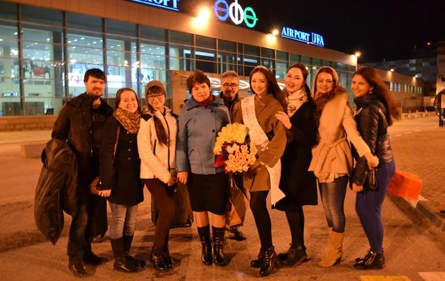 Уфимская красавица Альбина Ахтямова вернулась в башкирскую столицу