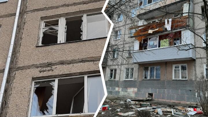 «Стена упала на жену». В ярославской пятиэтажке взорвался газ: как выглядит дом сейчас