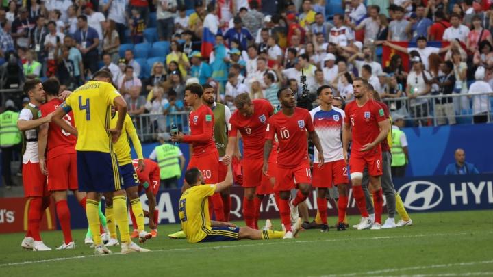 Как шведы под Самарой: англичане обыграли скандинавов со счётом 2:0