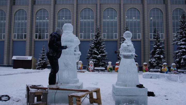 На набережной в Самаре построят сказочный город изо льда