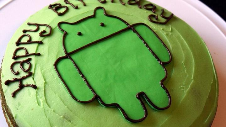 Этой осенью Android отпраздновал свой 8-й день рождения