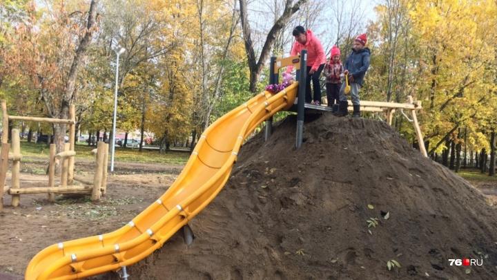 Власти решили, что в Ярославле поставят вместо горки из грязи, которую высмеял Иван Ургант