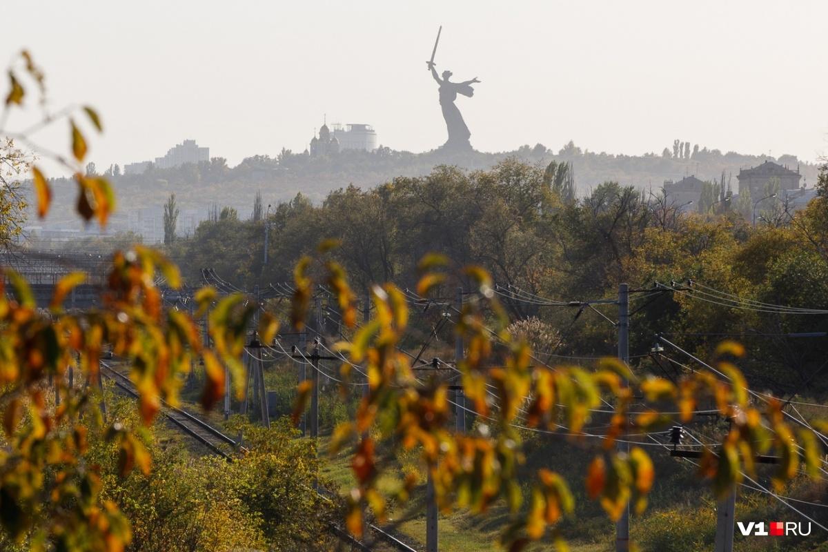 В Волгограде сегодня солнце подарит горожанам тепло до+18 °С