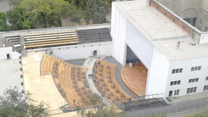 В обновленном Зеленом театре в парке Революции начнут показывать кино