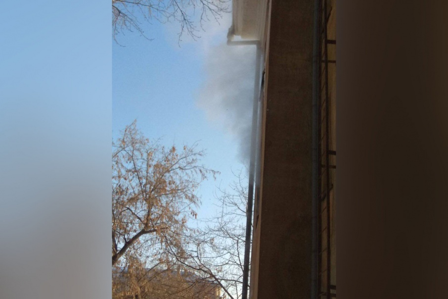 Сайлент Хилл по-челябински: из-за коммунальной аварии высотку окутал туман